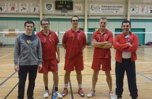 Equipe masculine J3